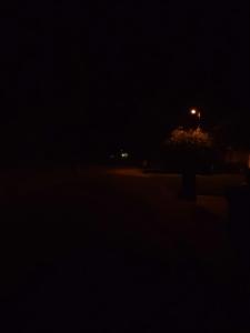 my street at 5am