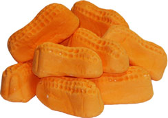 orange peanut