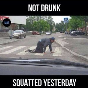 squatted