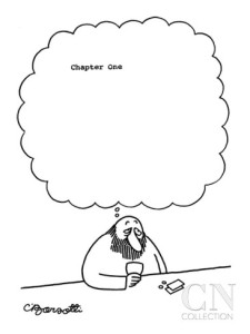 charles-barsotti-man-at-bar-thinks-chapter-one-with-large-blank-space-following-new-yorker-cartoon