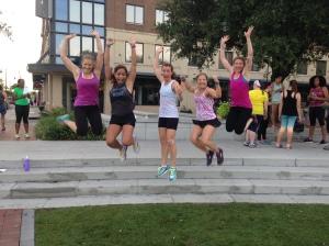 My fellow Girls Gone Sporty ambassadors!